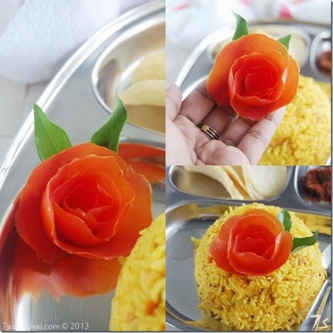 Tomato rose new