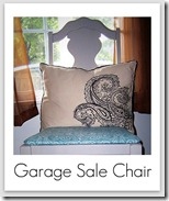 garage sale chair