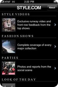 style.com ipad