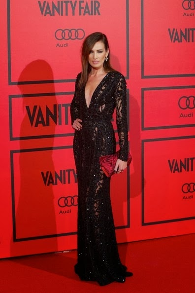 Nieves Alvarez attends the Vanity Fair 5th anniversary party