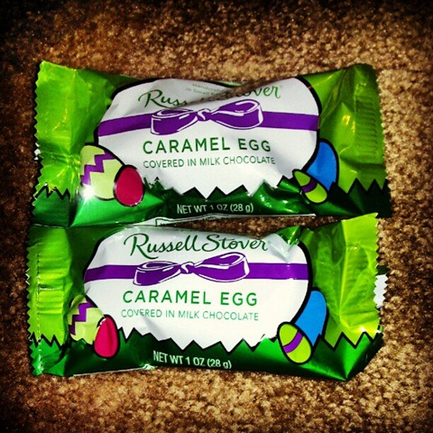 russel stover chocolate caramel