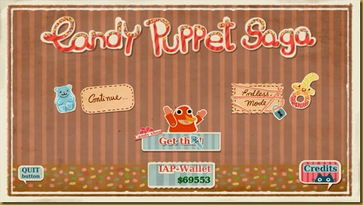 Candy Puppet Sagaタイトル