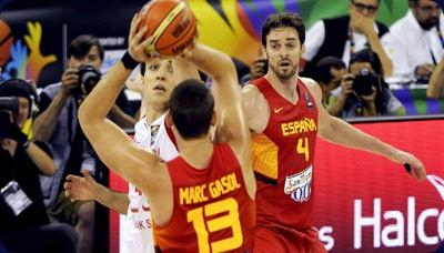 españa mundial basquetball