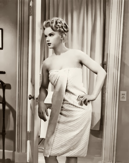 Anne Francis in 'The Great American Pastime', 1956.
