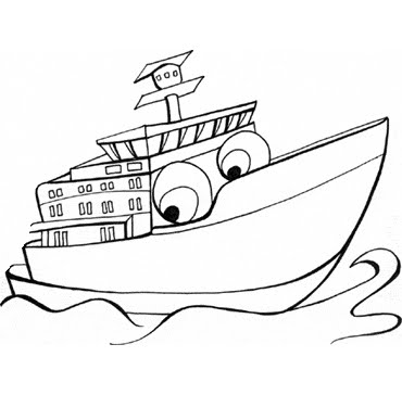 Colorear Dibujos De Vehiculos Animados