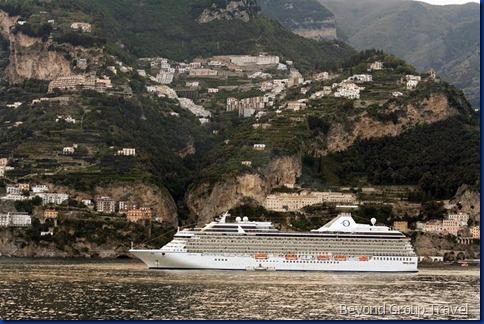 Marina anchored in Amalfi 5-Oceania Cruises