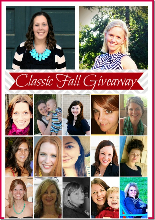 Classic Fall Giveaway Hosts and cohosts