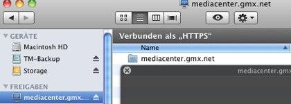 Mediacenter gmx net