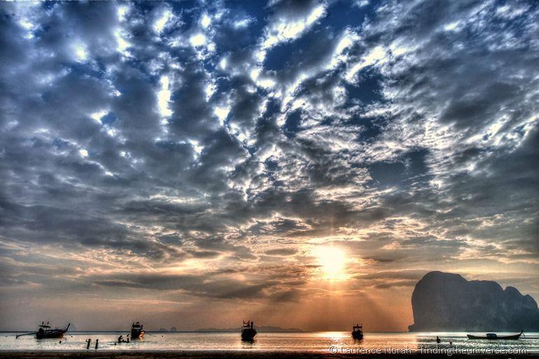 Pak Meng beach sunset