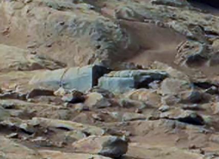 Estruturas antigas em Marte