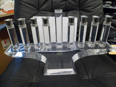 Ritts Company, Astrolite Products acrylic menorah