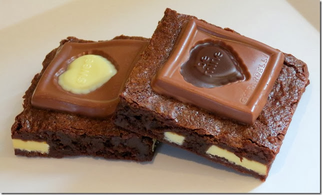 Ghirardelli Chocolate Valentine Impressions Brownies