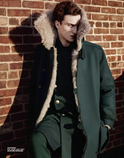 Jacob Coupe by Josh Olins for VMan #23