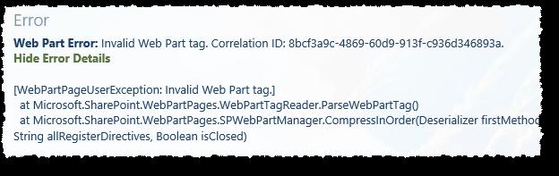 Result script web part 2