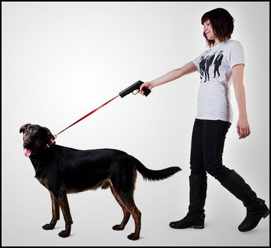 Laisse pour chien en forme de pistolet_02