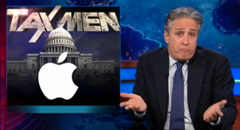 Jon Stewart | Tax Men | Apple (click to watch on The Daily Show)