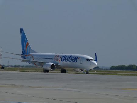 Aeroportul Otopeni: Fly Dubai la Bucuresti