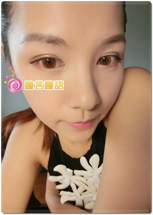 日本ROYAL VISION隱形眼鏡-蜜桃甜心金咖9