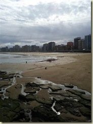 Playa de San Lorenzo beach Gijon (Small)