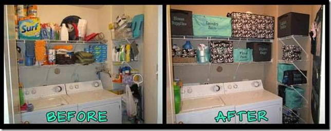 Laundry Room - Before & After