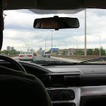 driving in Toronto, Ontario, Canada