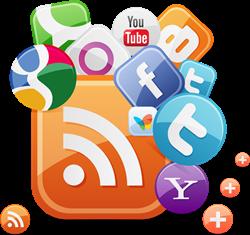 Feed e redes sociais