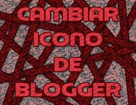 cambiar icono de blogger favicon - imagen principal del post