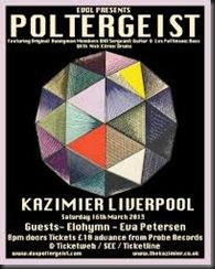 poltergeist Kazimier Live review