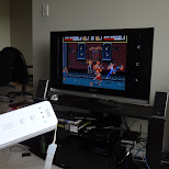 playing genesis with a wii controller on an android phone in Hamilton, Ontario, Canada