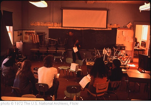 'Training Class For Havasupai Teachers in Reading and Language Instruction Methods' photo (c) 1972, The U.S. National Archives - license: https://www.flickr.com/commons/usage/