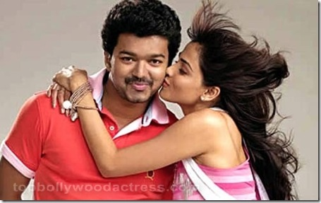 Vijay, Genelia  Velayutham movie stills 8