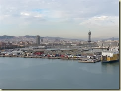 20131113_Barcelona from ship (Small)