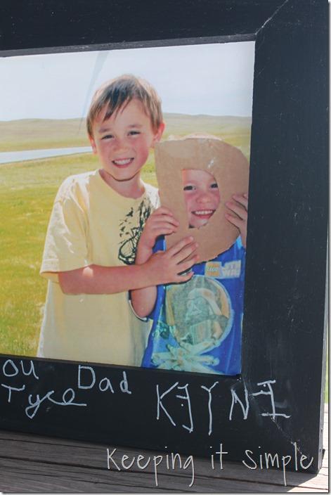 DAD Chalkboard Frame (3)
