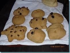 Έναγκρον - Ζύμωμα και ψήσιμο ψωμιού