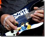 [Kirk Hammett playing guitar]