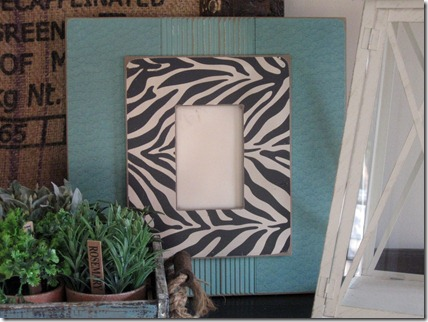 turquoise frame 2