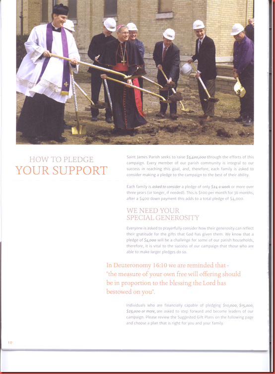 Continue the Vision  Capital  Campaign  page 10