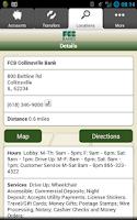 Screenshot of FCB Banks - Collinsville