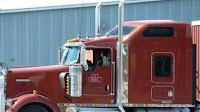 amerikanischer Truckfahrer