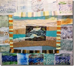 Sue Reno, Ice Jam, Work In Progress, Image 3