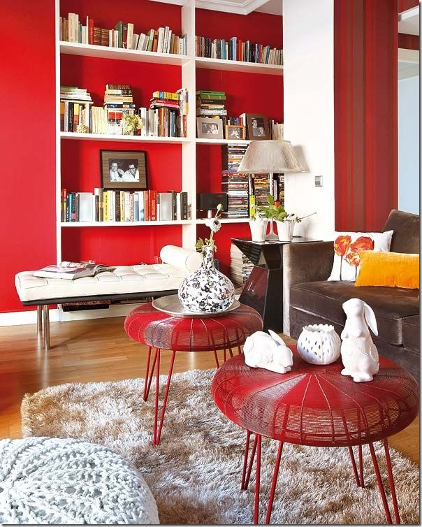 case e interni - uso del rosso - red - interior-design (10)