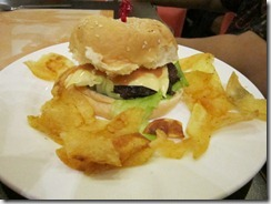 sunburst cheeseburger, 240baon