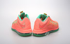 nike lebron 10 low gr watermelon 3 07 Release Reminder: Nike LeBron X Bright Mango aka Watermelon
