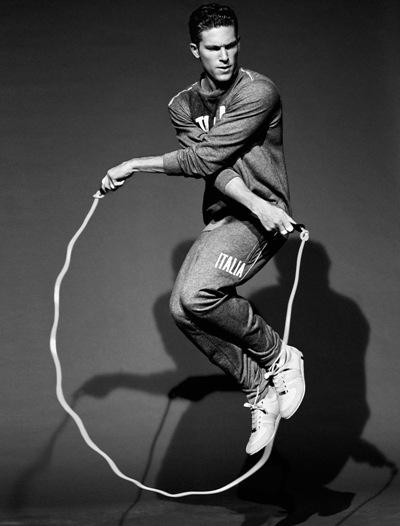 Adam Senn by Sergi Pons for Glamour España, March 2012.  Styled by Ana Murillas.