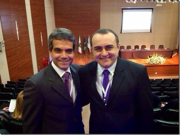 Luis Eduardo Barbalho e Jeancarlo Cavalcante