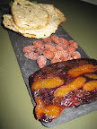 As did the fruit terrine, and almonds Cynthia brought along to sample.