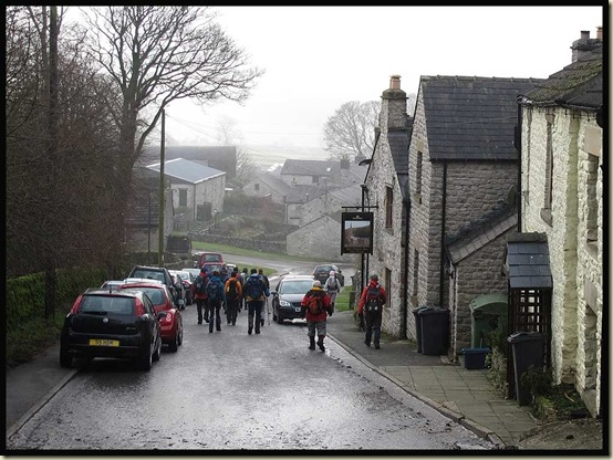 Passing the Church Inn - Chelmorton