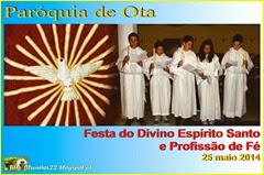 Festa Esp. Santa e Prof. Fé - Ota 25.05.14 (1)