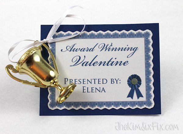 Award winning valentine