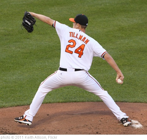 'Chris Tillman' photo (c) 2011, Keith Allison - license: http://creativecommons.org/licenses/by-sa/2.0/